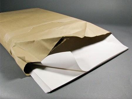 бумага газетная в листах-пачках
