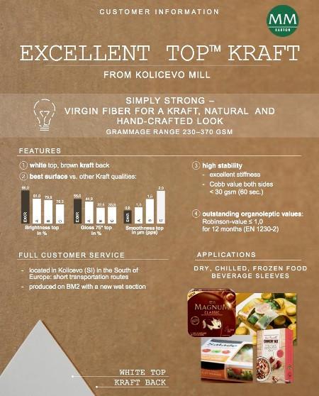 Крафт-картон Excellent Top Kraft